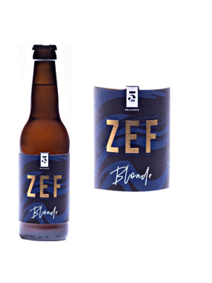 BIERE BLONDE ZEF 33CL>