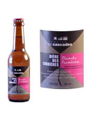 BIERE BLANCHE FRAMBOISE 25CL>