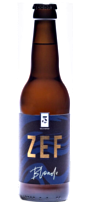 BIERE BLONDE ZEF 33CL