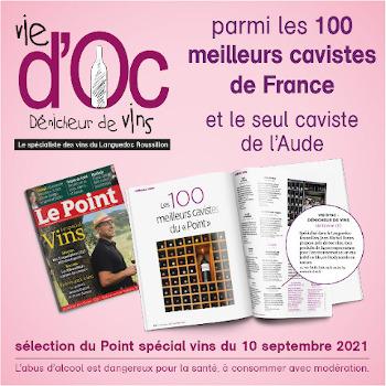 Vie d'Oc parmi les 100 meilleurs cavistes de France